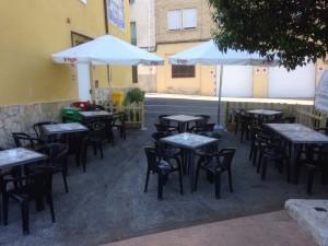 terraza restaurante pensión mariola