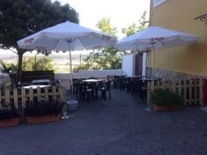 restaurante pension mariola terraza agres