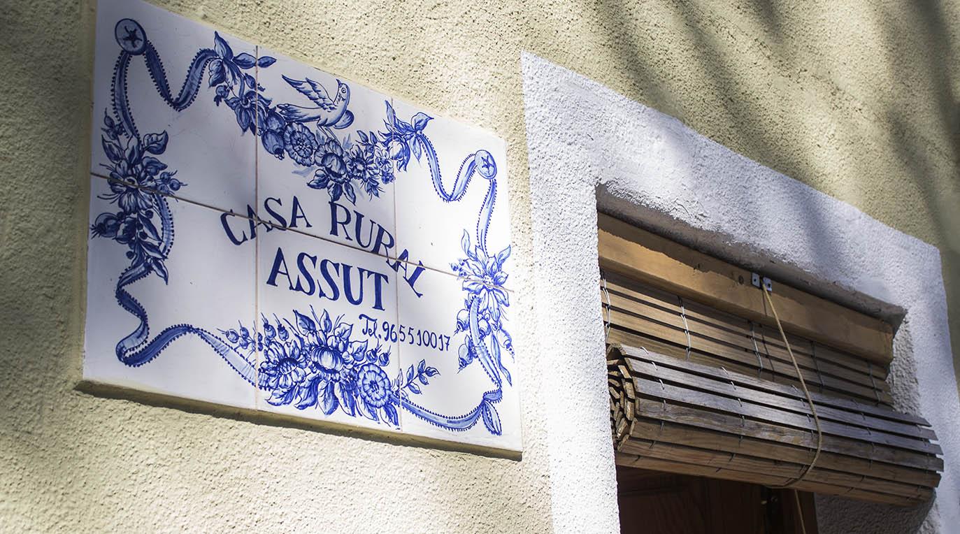 Casa Rural Assut - Habitaciones